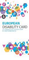 European Disability Card. Uw toegang tot cultuur, sport en vrijetijdsbesteding