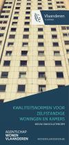 Kwaliteitsnormen voor zelfstandige woningen en kamers 2018